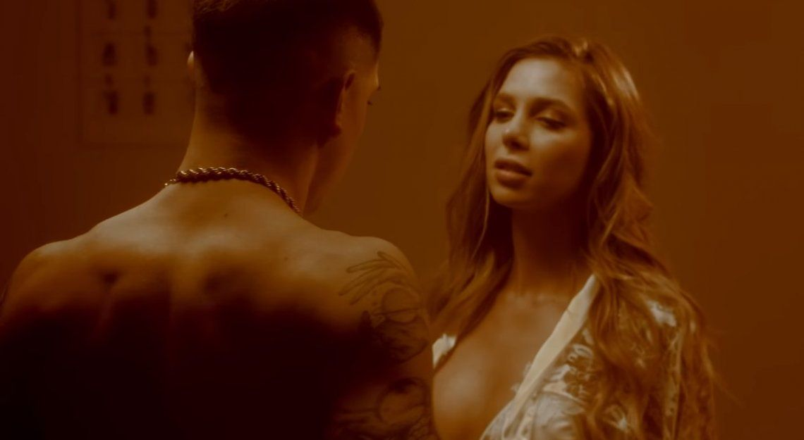 Fin del misterio: se reveló por qué Romina Malaspina compartió la cama con el rapero Ecko