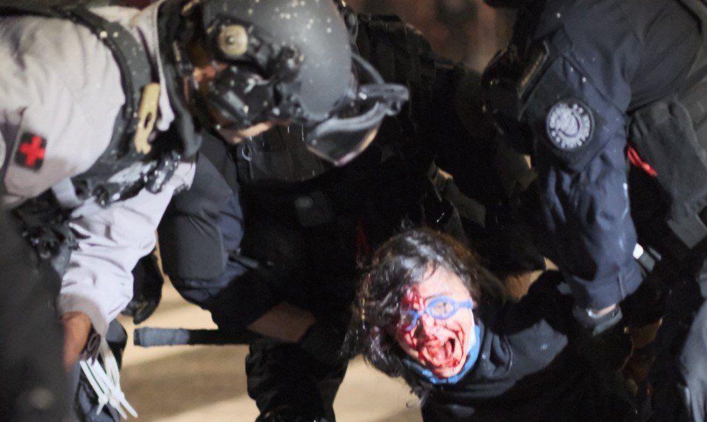 Detenciones masivas en Portland, que cumple 100 noches de protestas