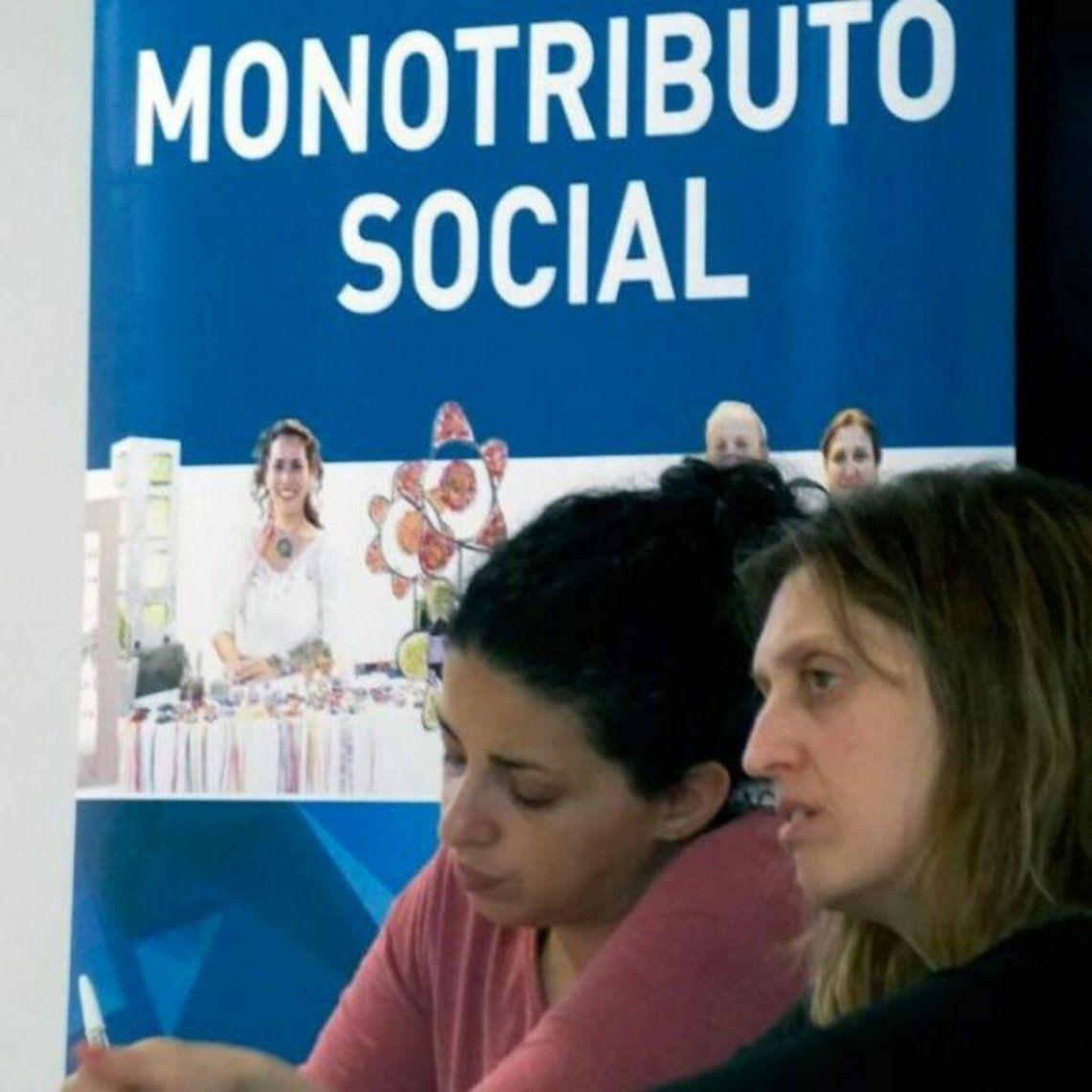 El monotributo social da cobertura a más de 700.000 personas