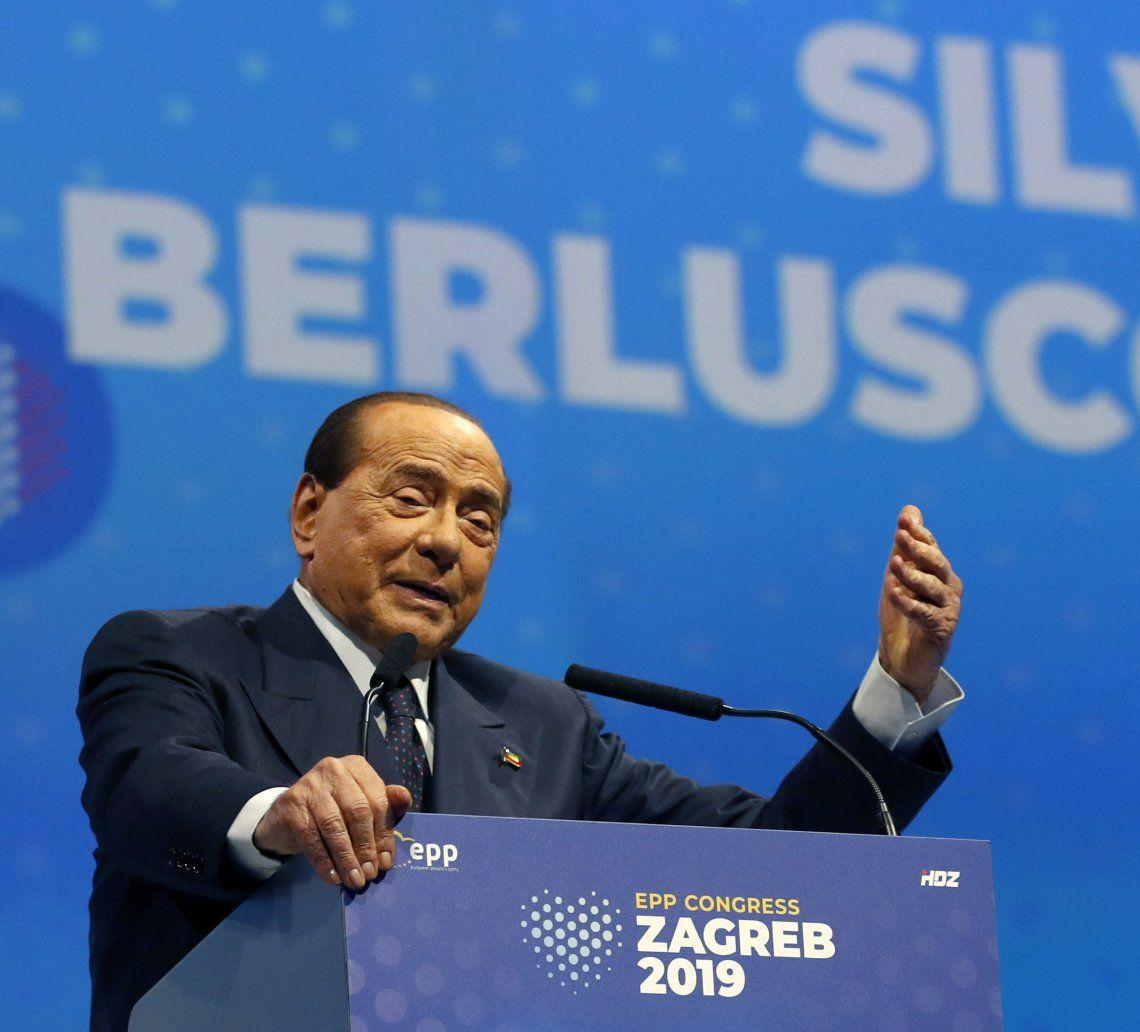 Silvio Berlusconi dio positivo de coronavirus el pasado 2 de setiembre.