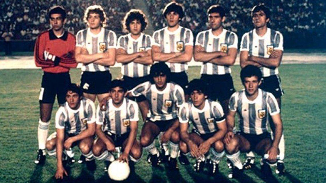 A 41 años del primer título de Diego Maradona con la Selección nacional