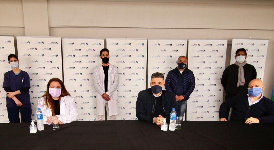 Licencia de descanso para el personal de salud de Vicente López