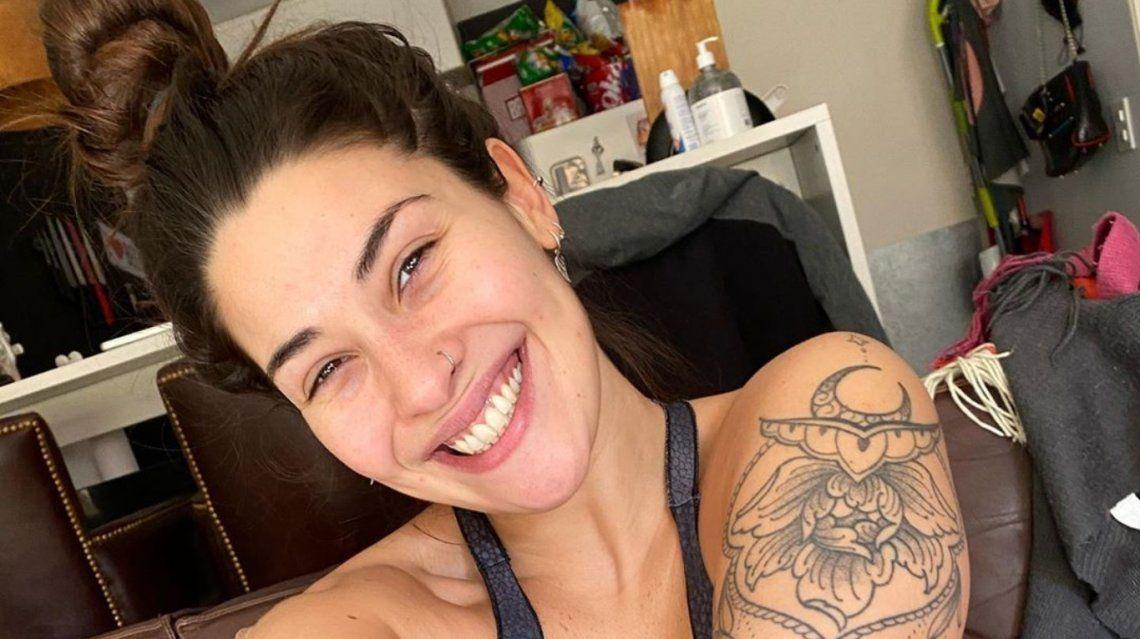 Ivana Nadal se sometió a una cirugía estética y mostró el resultado en las redes