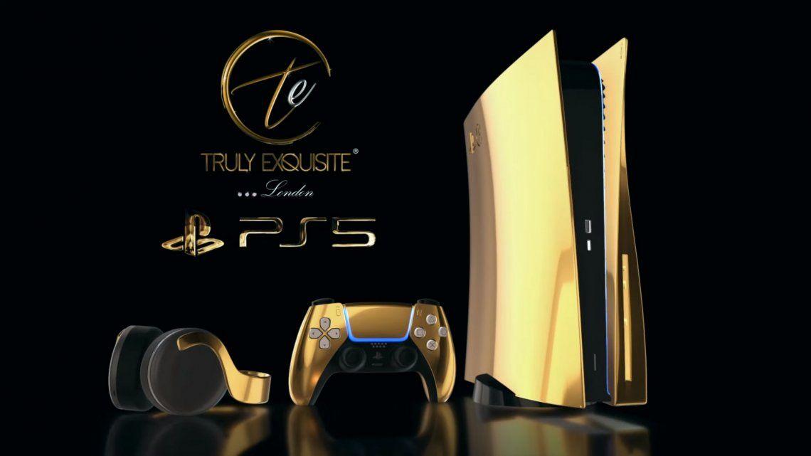 Revelan el precio de la PlayStation 5 bañada en oro