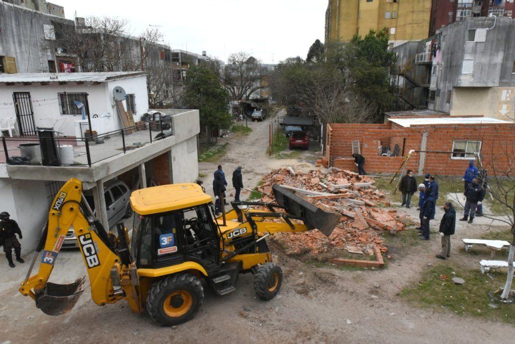 Recuperaron terrenos usurpados en el barrio Ejército de Los Andes