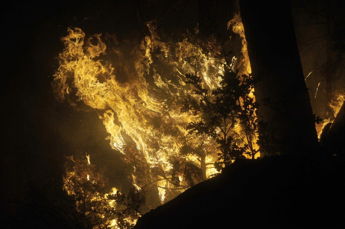 Los incendios forestales en California no dan tregua