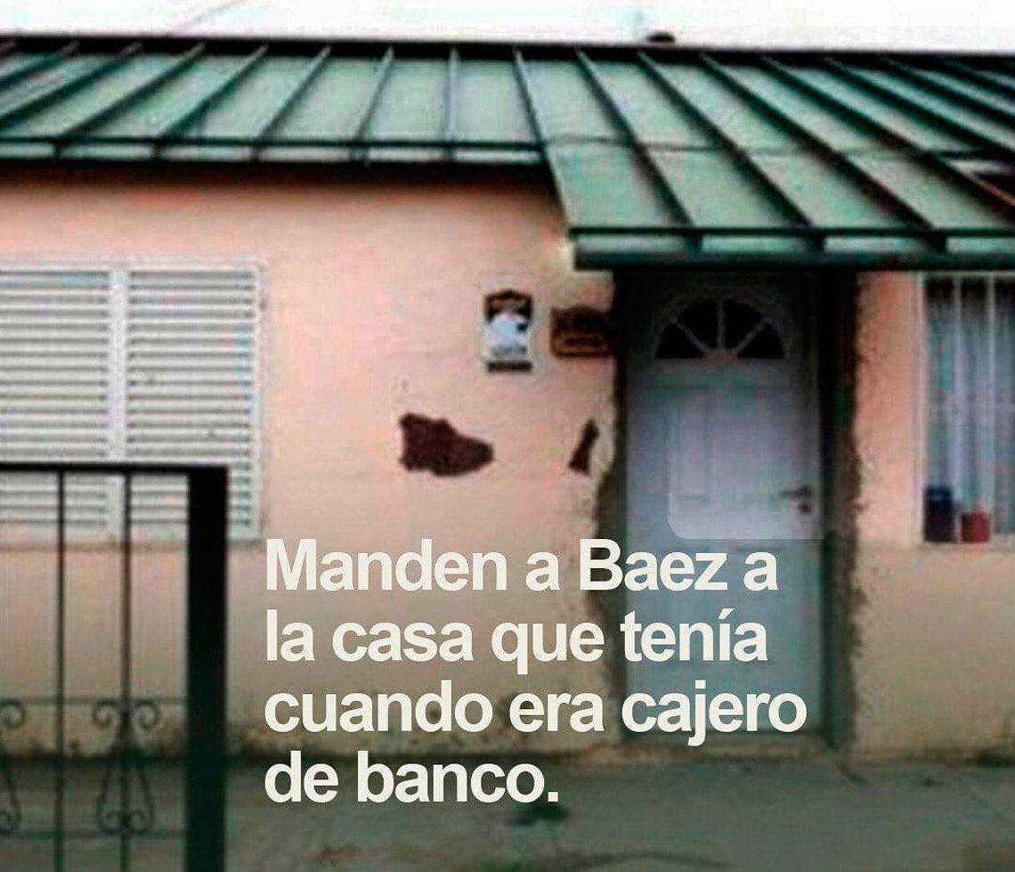 Este es el mensaje de los socios de Ayres de Pilar para Lázaro Báez: que vuela a la casa en la que vivía cuando era pobre.