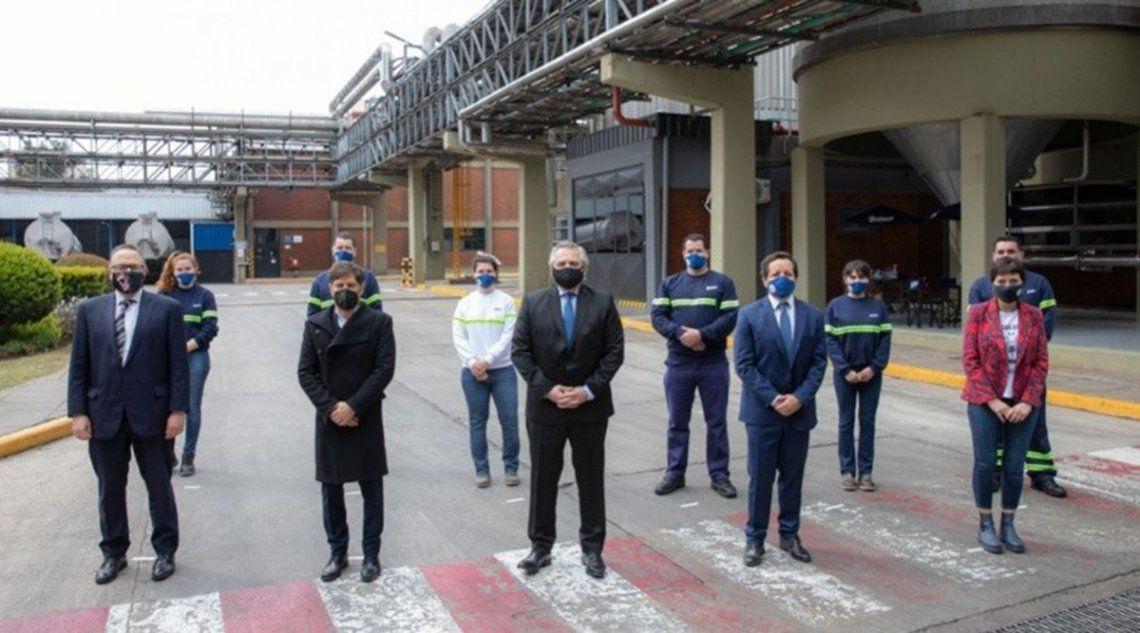 Alberto Fernández se refirió a las protestas policiales: No se resuelve escondidos en patrulleros tocando sirena