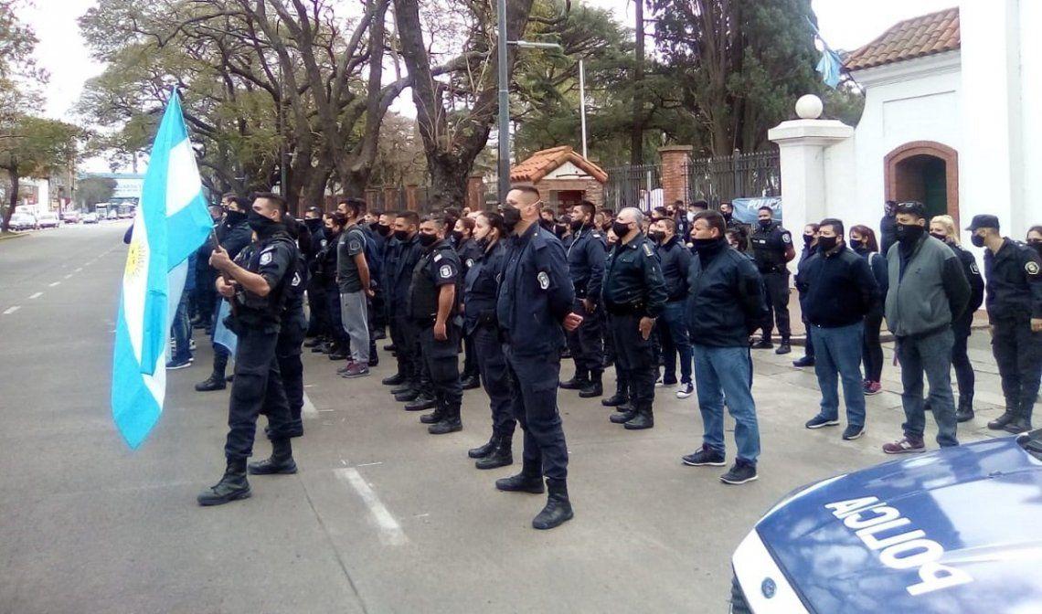 El PJ y los sindicatos rechazan la manipulación opositora del reclamo policial