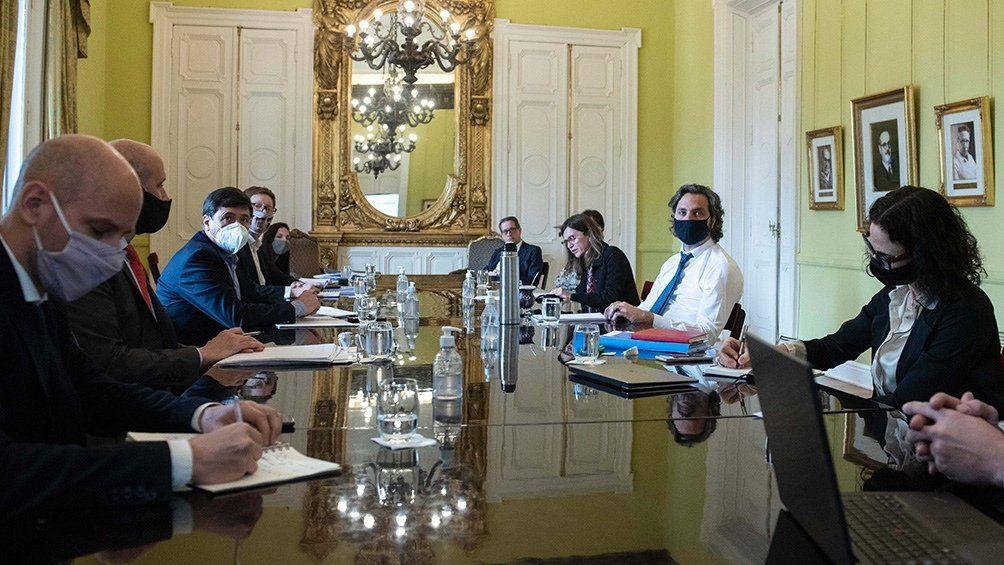 Reunión de ayer del Gabinete Económico