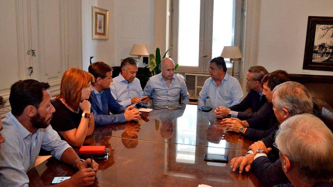 El PRO sostuvo que es inconstitucional restar un punto de coparticipación al distrito porteño