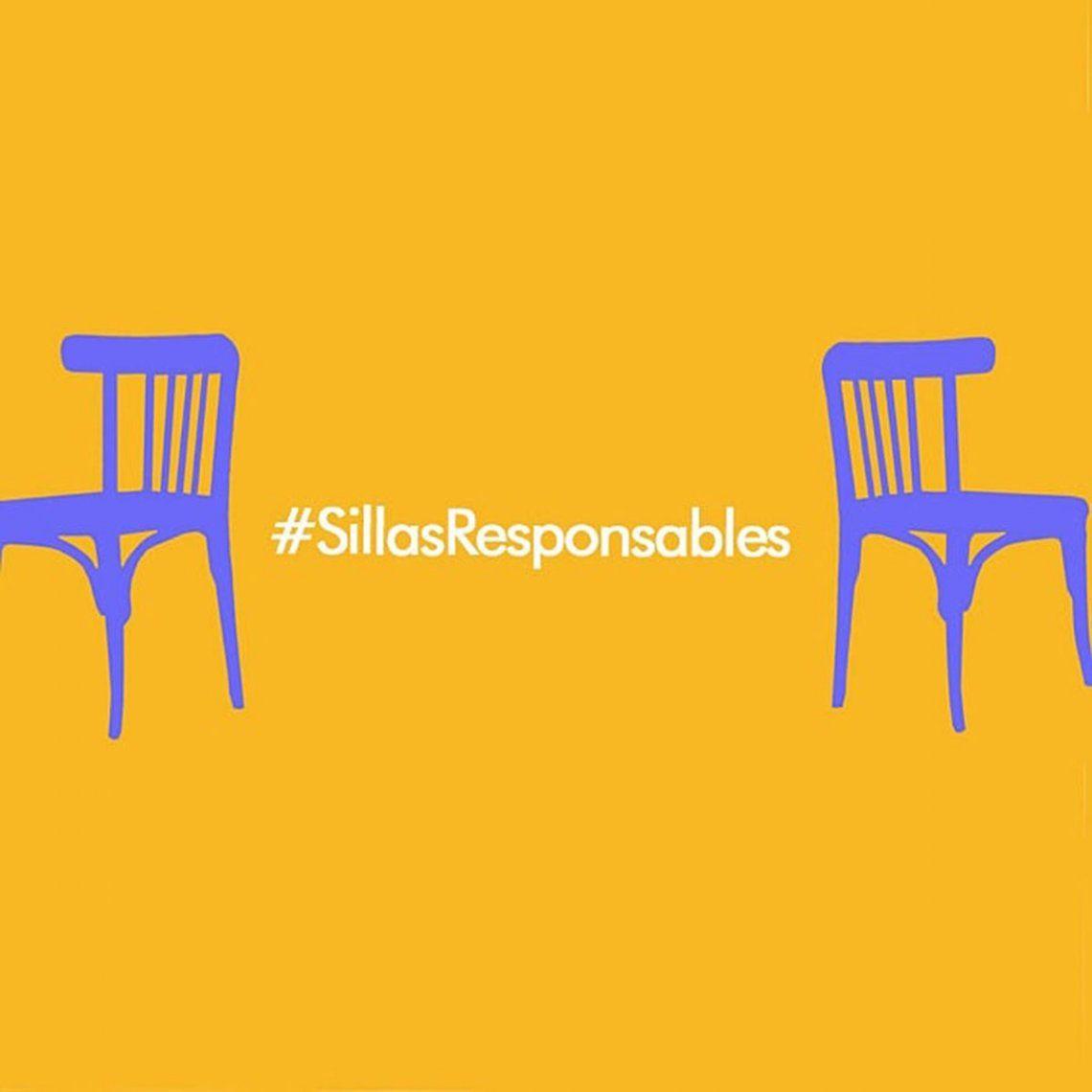 Lanzaron #SillasResponsables, una campaña de bares para concientizar a los clientes y poder trabajar