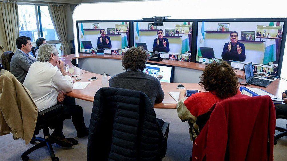 Coparticipación: gobernadores aliados respaldaron la medida de Fernández
