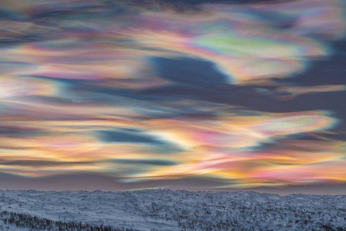 Ganador categoría paisajes del cielo: Painting the Sky de Thomas Kast (Alemania)