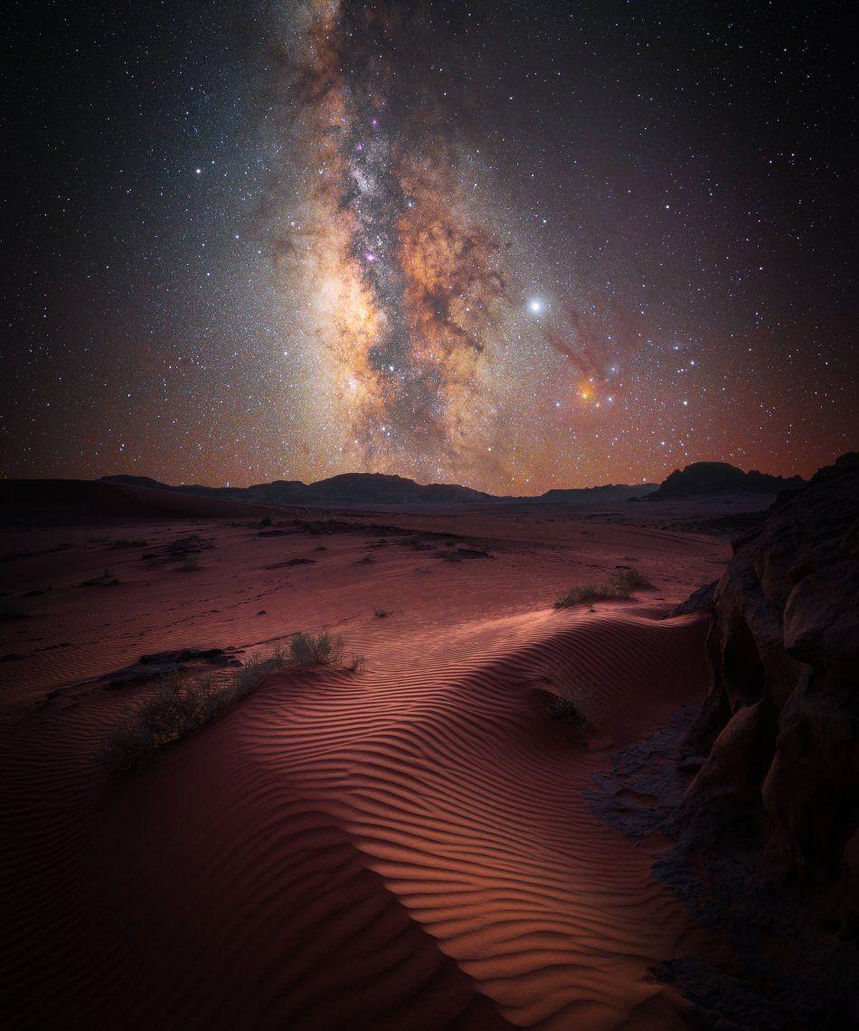 Segundo categoría paisajes del cielo: Desert Magic de Stefan Leibermann (Alemania)