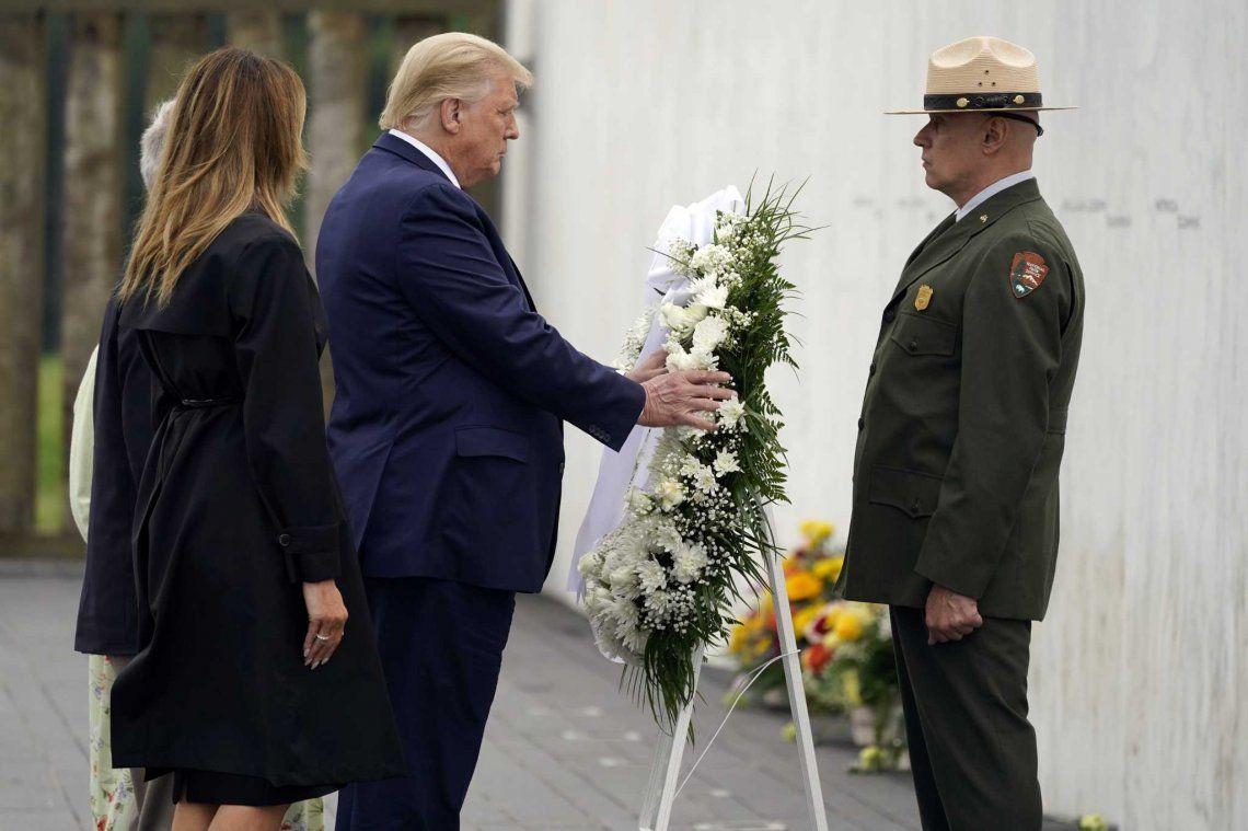 A 19 años del atentado contra las Torres Gemelas: Trump y Biden encabezaron los homenajes a las víctimas
