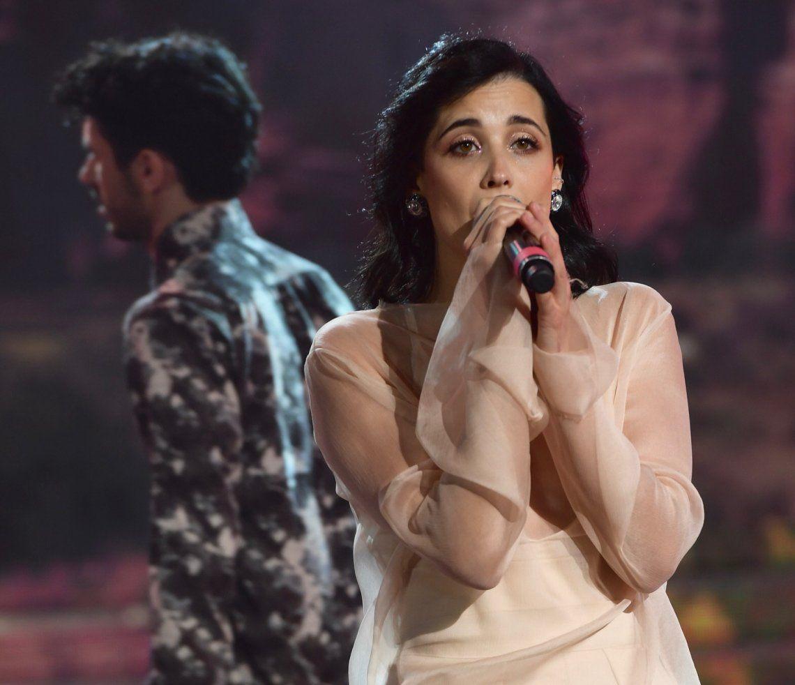 Flor Torrente se presentó en la gala del viernes del Cantando 2020.