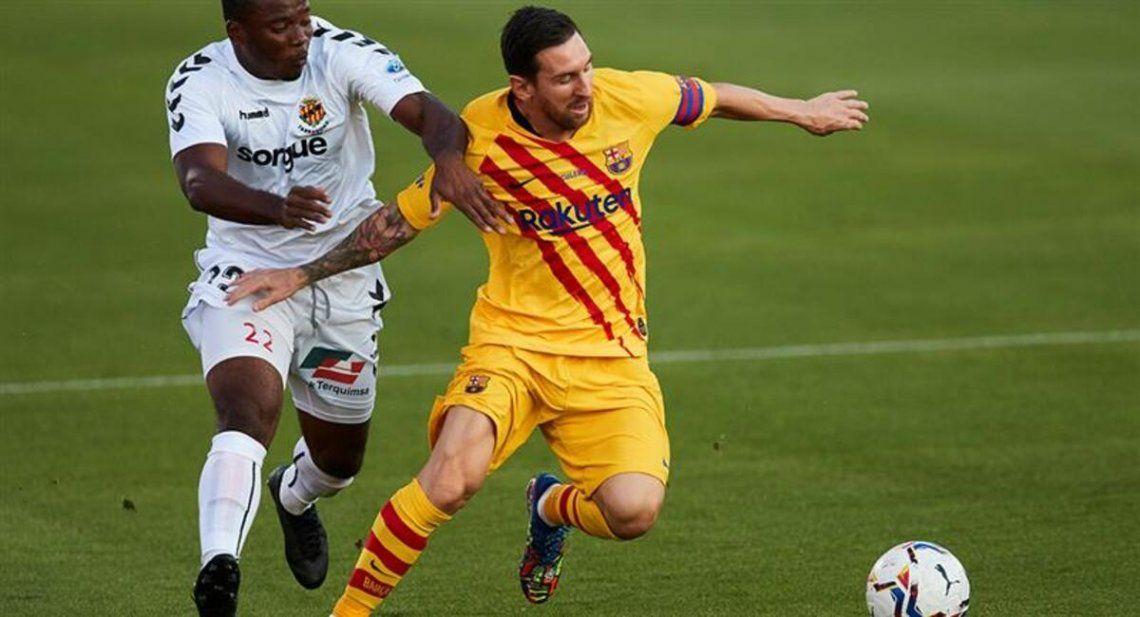 A Messi la cinta de capitán no se la saca nadie