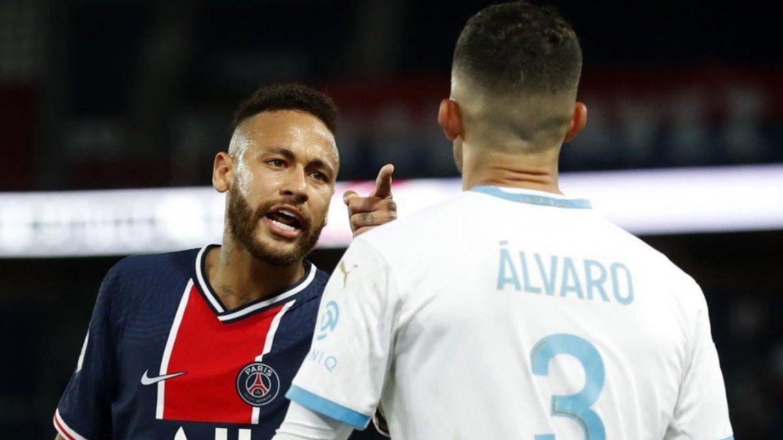 Neymar caliente con Álvaro González: Me llamó mono hijo de puta; me arrepiento de no haberle pegado en la cara