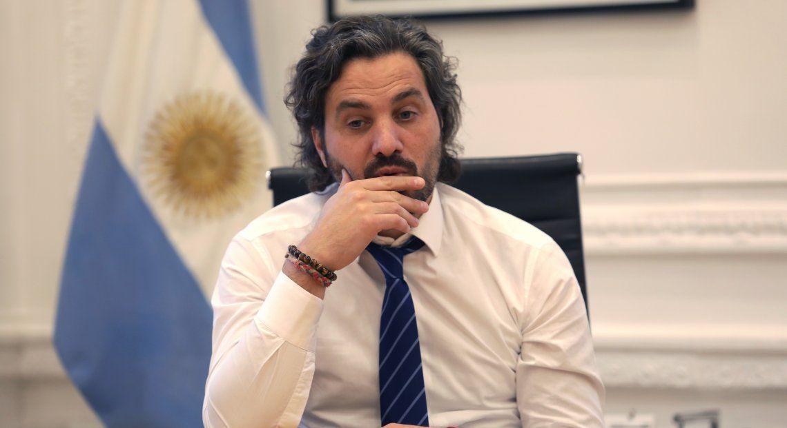 Santiago Cafiero habló de un eventual rebrote del coronavirus y el acompañamiento social.