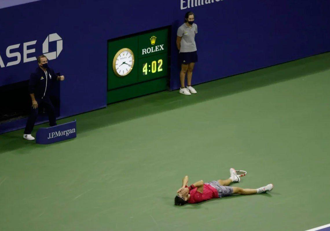 Las mejores fotos de la consagración de Dominc Thiem en la final del US Open 2020