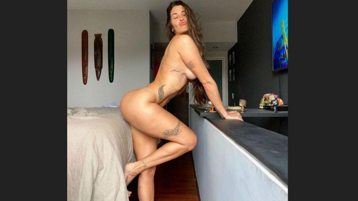 Ivana Nadal lo hizo de nuevo: su desnudo total dejó a Instagram en llamas