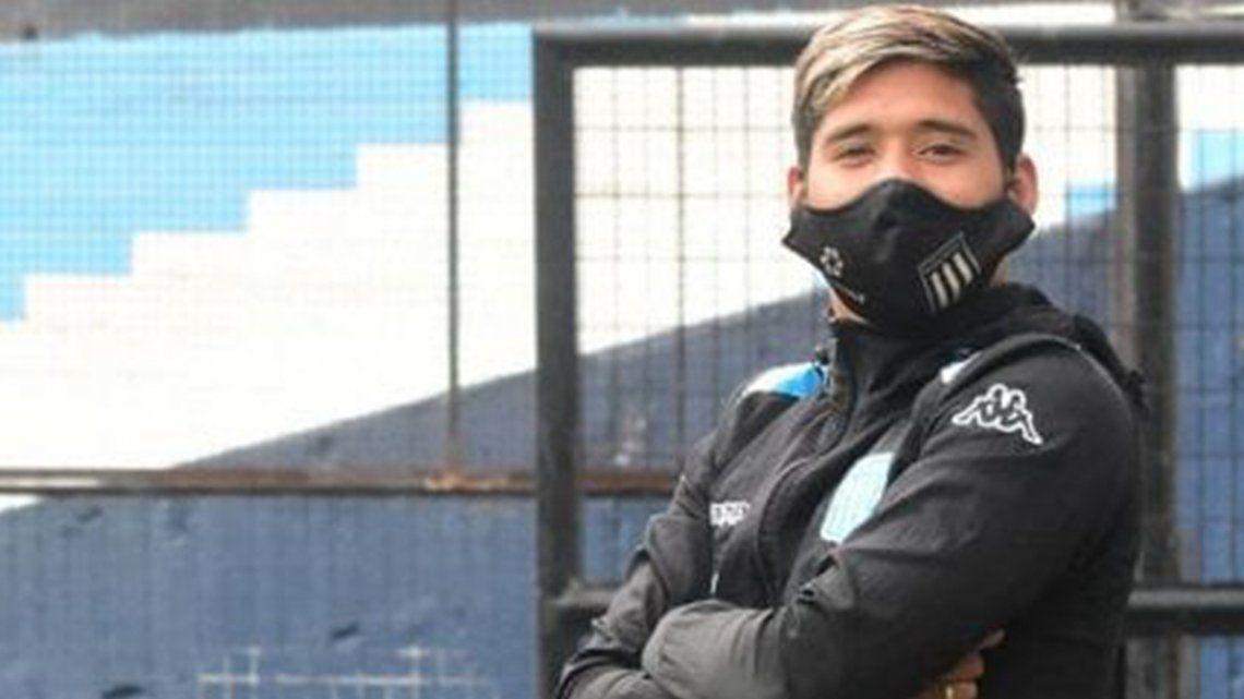 Racing: Matías Zaracho dio positivo en coronavirus y no jugará ante Nacional