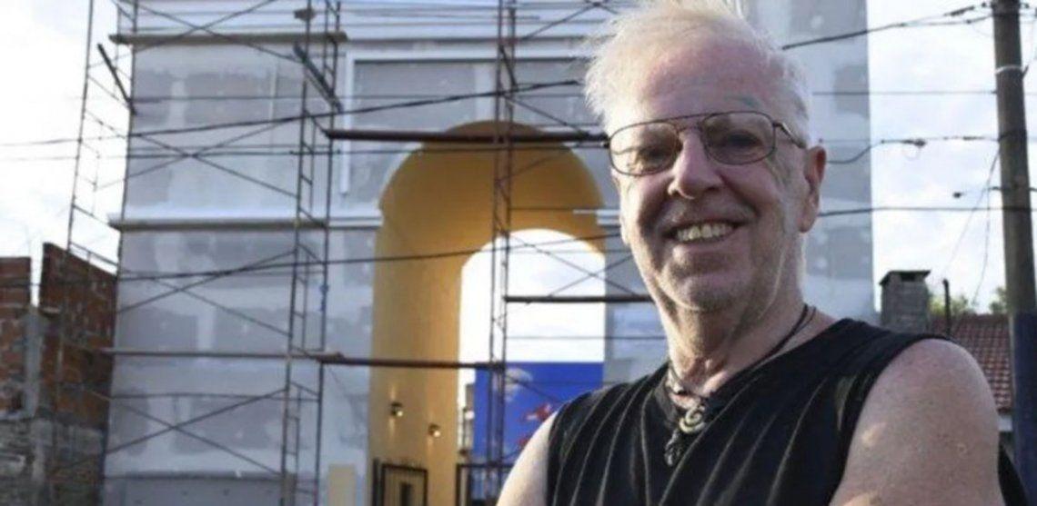 Rubén Díaz, el artista de Ituzaingó que reconstruye obras monumentales europeas