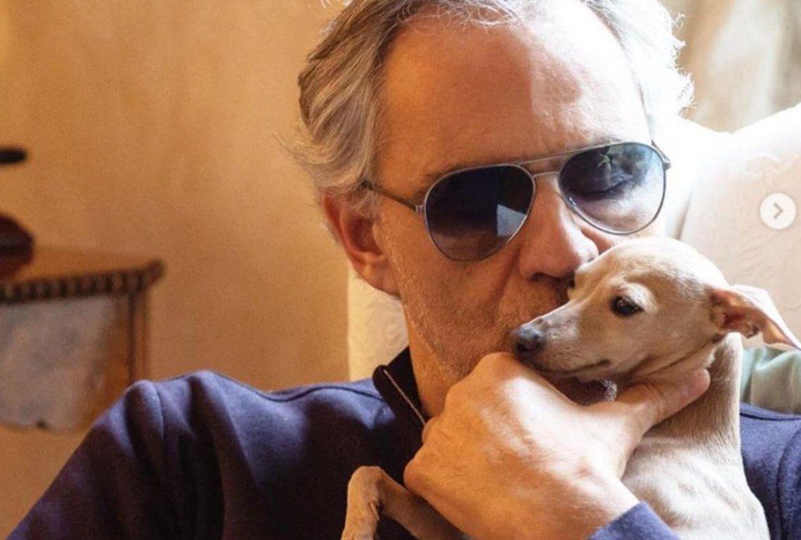 Tras perder su perrita, acusan a Andrea Bocelli de maltrato animal y negligencia