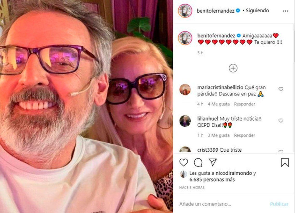 Celebridades manifestaron su dolor por la muerte de Elsa Serrano