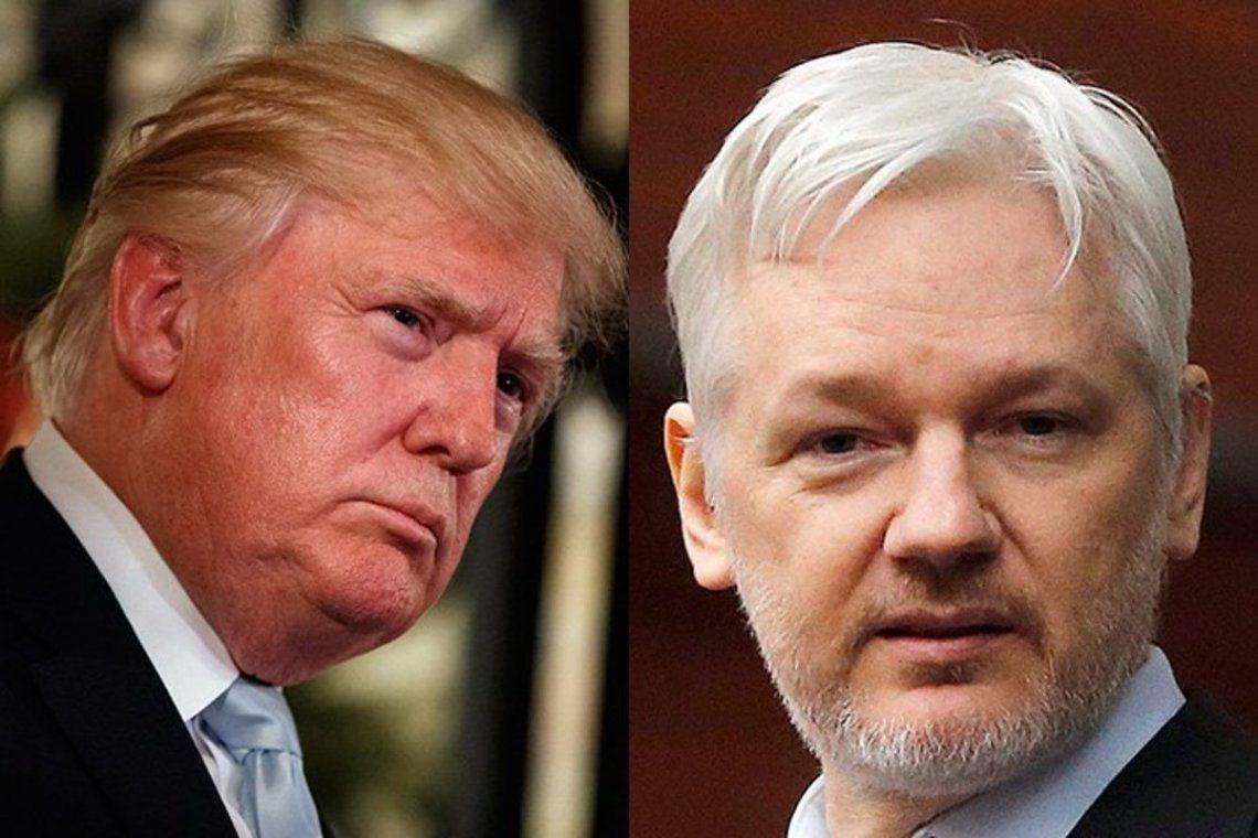 Trump ofreció inmunidad a Assange a cambio de información de la filtración de correos en 2016