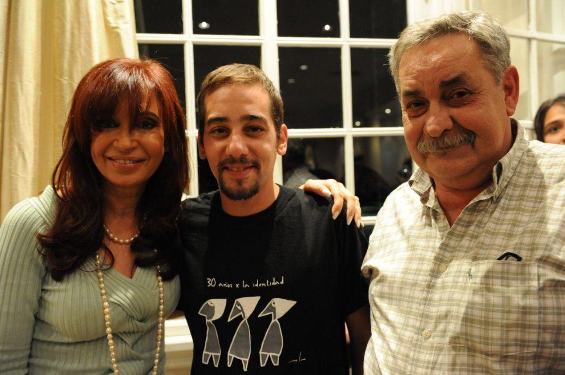 Alberto Fernández, Cristina Kirchner, Abuelas y funcionarios lamentaron la muerte de un nieto recuperado