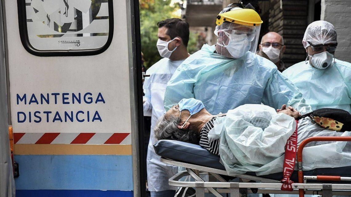 Coronavirus: Hubo 110 nuevas muertes, 35 de ellas sólo en Tucumán