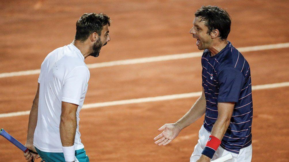 En el dobles también hubo alegría: Zeballos campeón en Roma