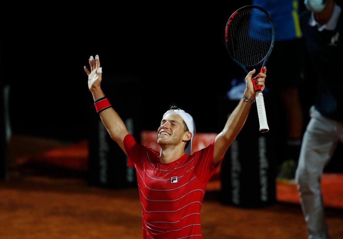 Masters de Roma: Schwartzman venció a Shapovalov  y enfrentará a Djokovic en la final
