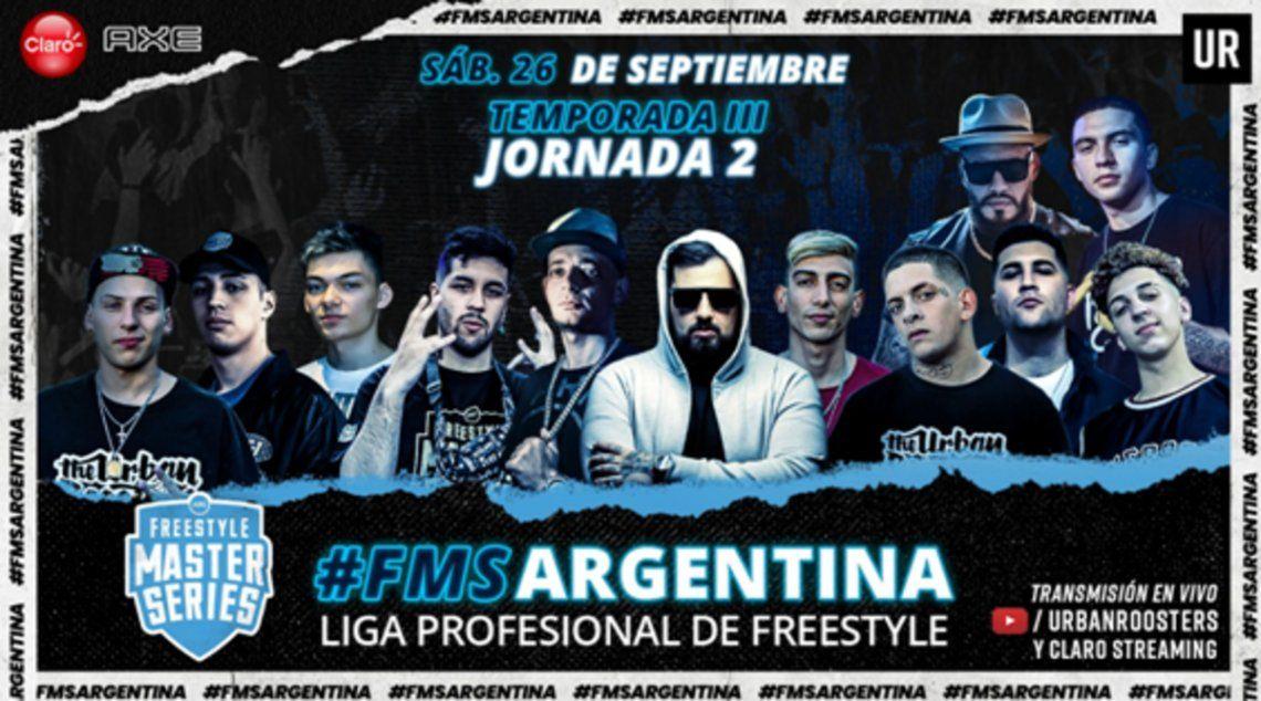 Freestyle: La segunda fecha de FMS Argentina será el 26 de septiembre