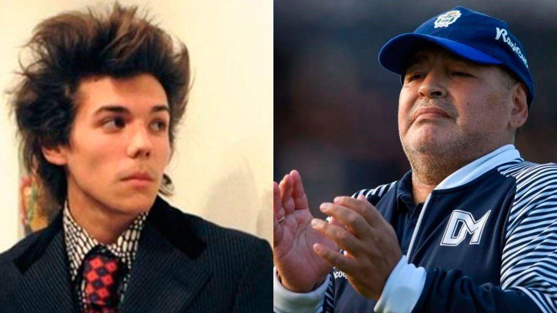 El increíble retrato hiperrealista de Diego Maradona que hizo Axel Caniggia