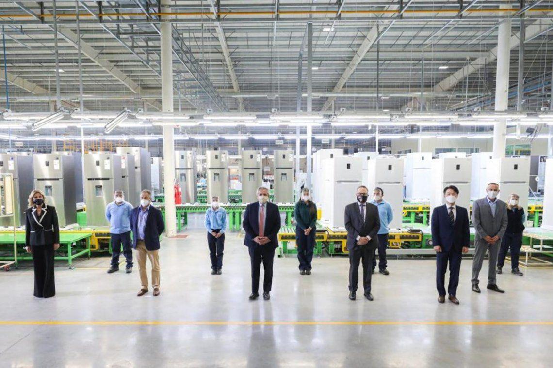 El gobierno lanzó una línea de créditos destinados a la compra de electrodomésticos de producción nacional