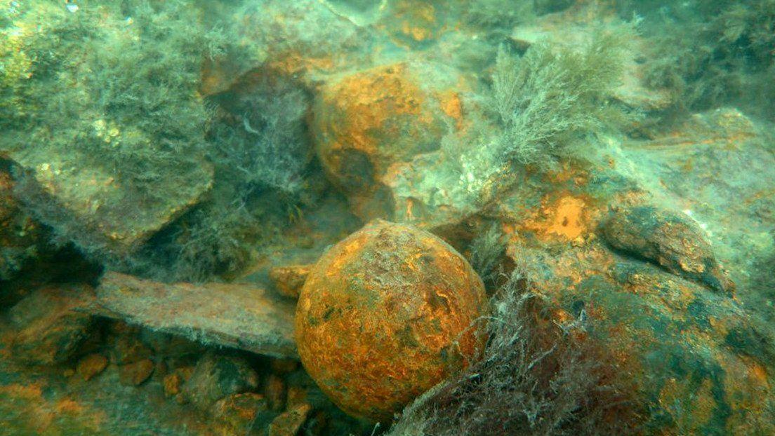 Encuentran un navío hundido hace 400 años en el Mar Báltico