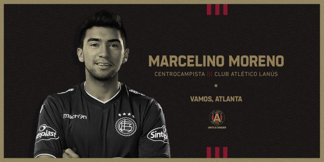 Marcelino Moreno ya es nuevo jugador del Atlanta United
