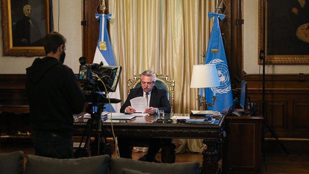 El mensaje de Alberto Fernández ante la ONU: la deuda, soberanía en las Malvinas y pedido a Irán por AMIA