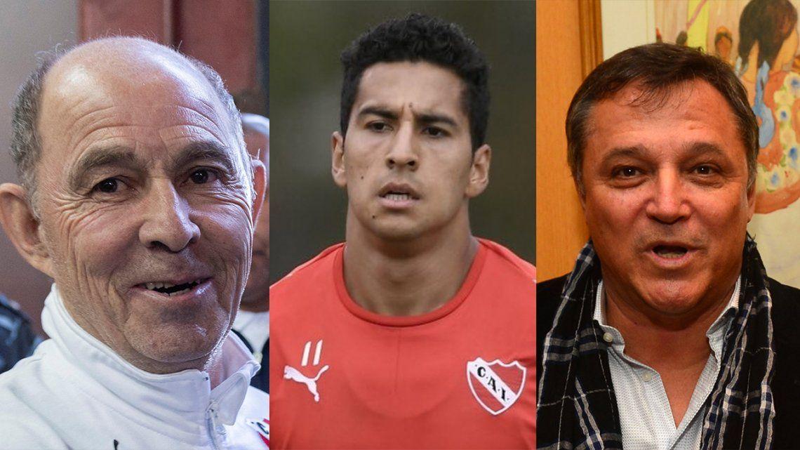 Independiente: Ricardo Bochini y Daniel Bertoni le respondieron a Cecilio Domínguez