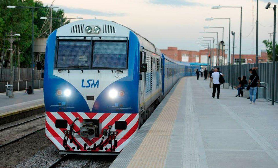 Será obligatorio reservar pasaje para la vuelta a casa en el Tren San Martín