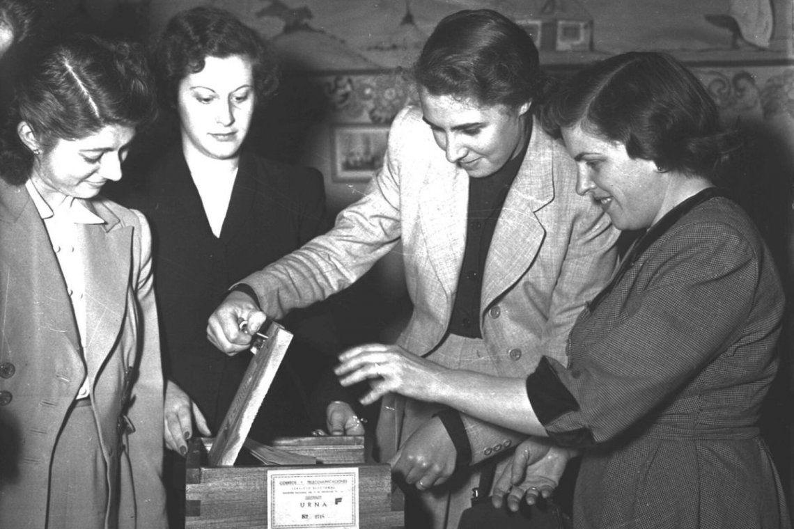 Voto femenino: se cumplen 73 años y diferentes personalidades políticas destacan la igualdad de derechos