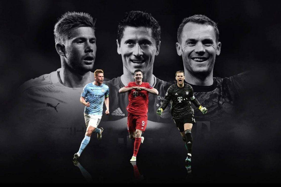 Para la UEFA, el mejor jugador del año no será Messi ni Cristiano Ronaldo