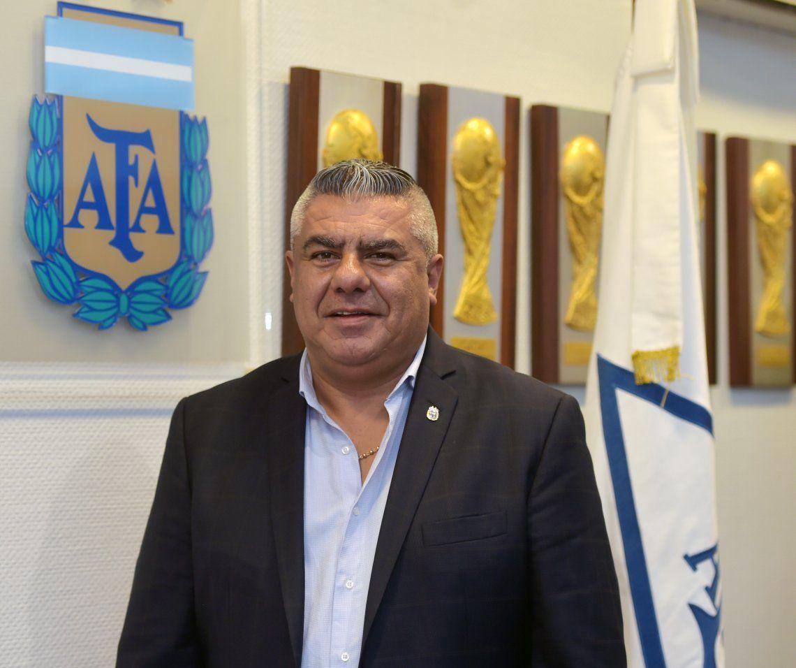 Claudio Tapia: Habrá fútbol en octubre sólo si la Nación autoriza