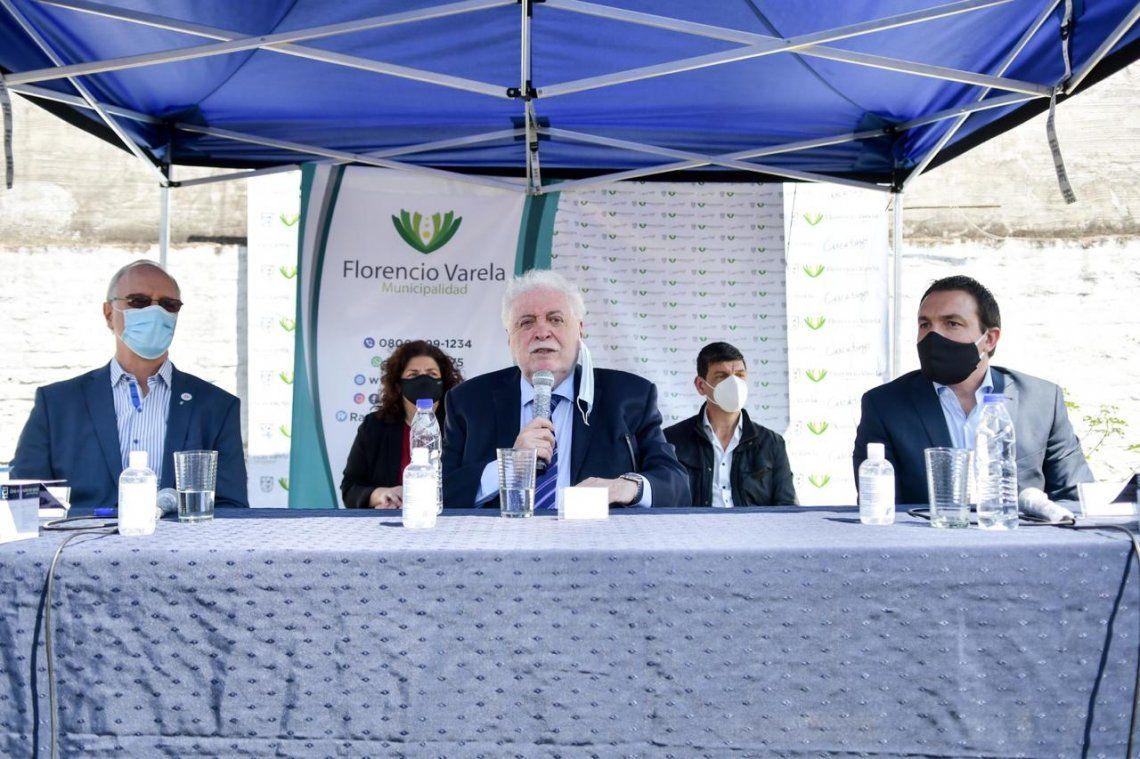 Florencio Varela: Presentaron test rápidos para detección de coronavirus