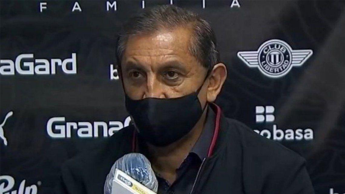 Copa Libertadores: Ramón Díaz presentó su renuncia como técnico de Libertad