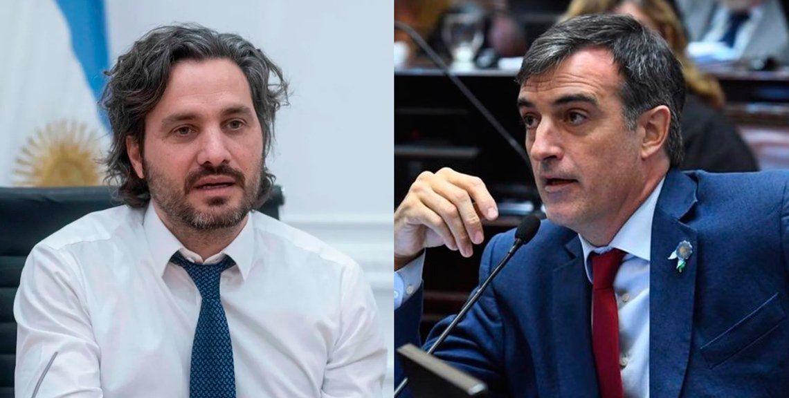 Cafiero cruzó a Esteban Bullrich por denunciar fraude en las PASO 2019