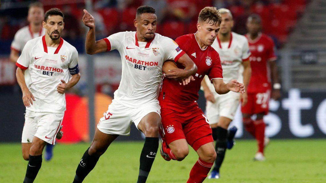 Supercopa de Europa: Bayern Munich derrotó a Sevilla en el suplementario y se quedó con la Copa